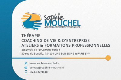 Recto Carte De Visite Sophie Mouchel Par Anthedesign